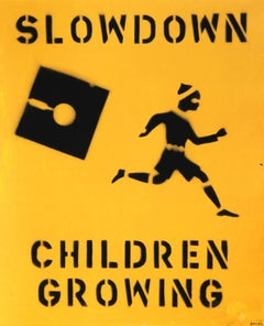 Slowdown Children Growing from Bullet Space, Your House is Mine by John Feckner