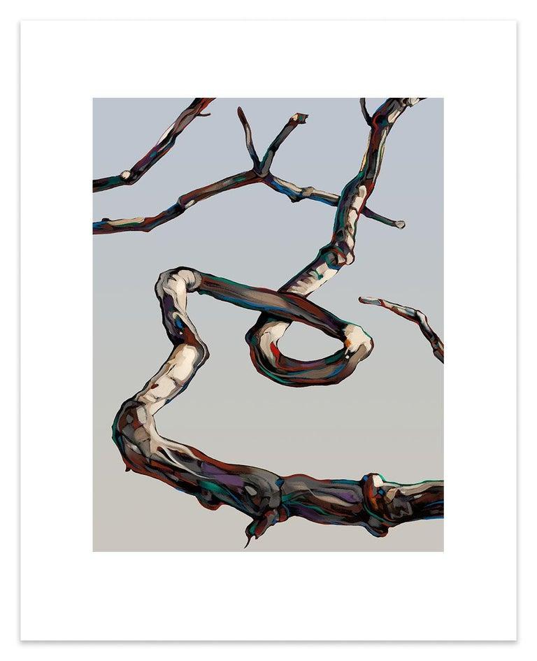 John Fincher Figurative Print - Hardwood Suite #3