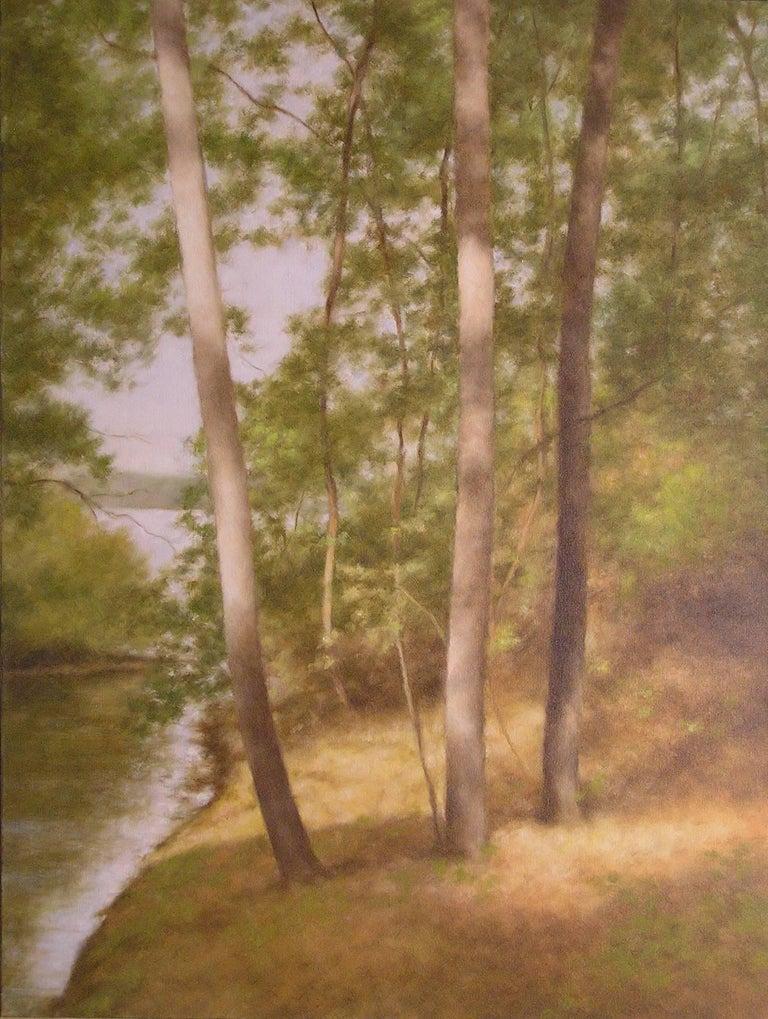 John Folchi Landscape Painting - Lake Passage