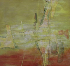 1950s abstract expressionist painting by John Franklin Koenig