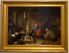 A Cottage interior scene