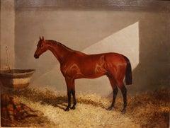 Bloomsbury, Winner of the Derby Oil on canvas