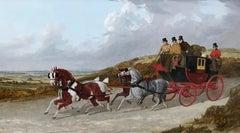 The Edinburgh to London Royal Mail coach