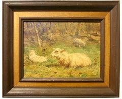 John Frederik Hulk II - Grazing Sheep