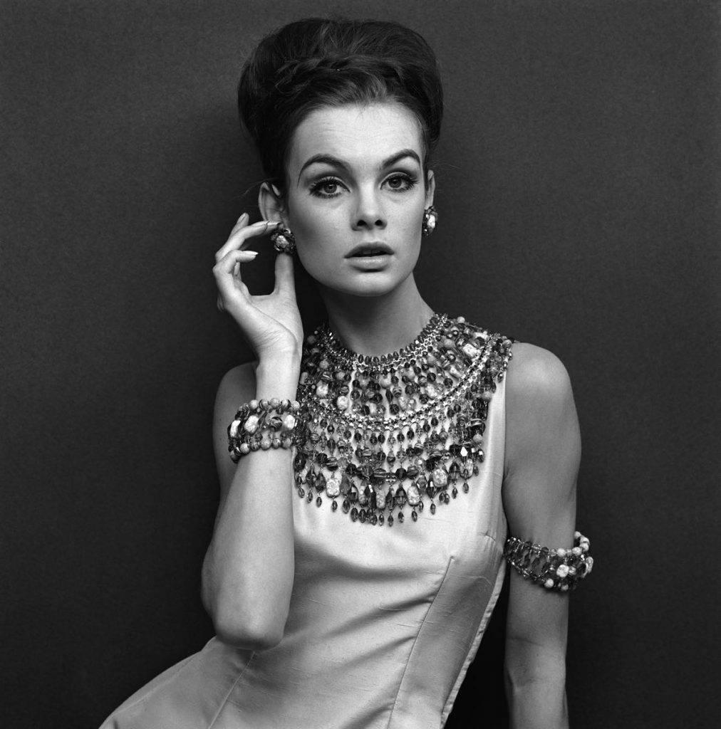 'Jean Shrimpton In Evening Dress' Limited Edition silver gelatin V&A Portfolio