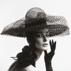 V&A - John French - Tania Mallet In A Madame Paulette Hat - Limited Edition