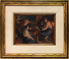Interior Scene with Figures
