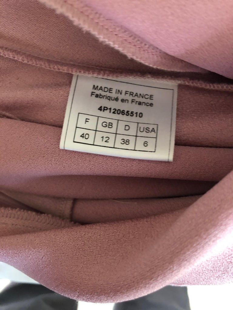 John Galliano Bias Cut Pink Diamond Pattern Cowl Draped Vintage Dress New w Tags In New Condition For Sale In San Francisco, CA