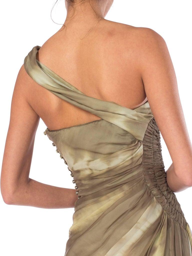 John Galliano Christian Dior Tye Dye Dress For Sale 5