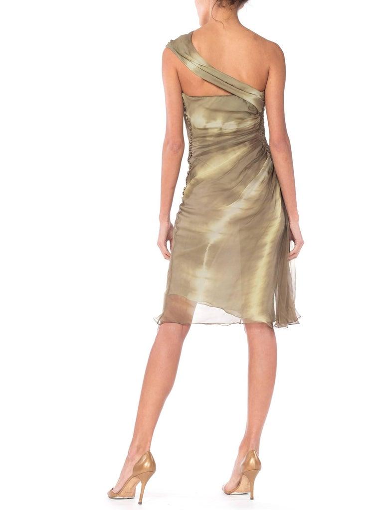 Women's John Galliano Christian Dior Tye Dye Dress For Sale
