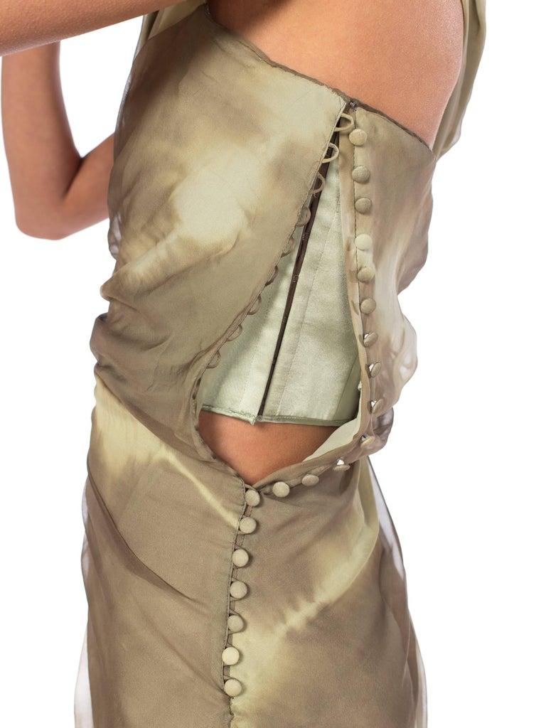 John Galliano Christian Dior Tye Dye Dress For Sale 2