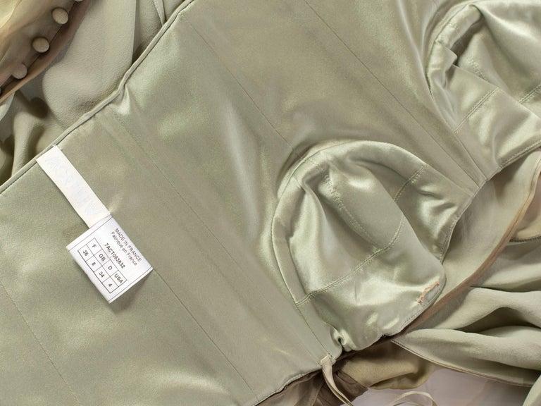 John Galliano Christian Dior Tye Dye Dress For Sale 3