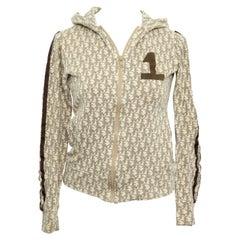 John Galliano for Christian Dior Light Brown Trotter Logo Sweatshirt