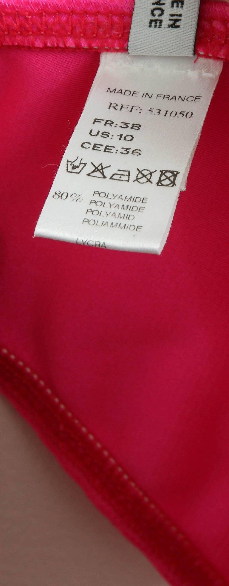 John Galliano for Christian Dior Pink Bikini For Sale 5