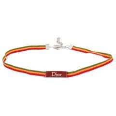 John Galliano for Christian Dior Rasta Collection Choker