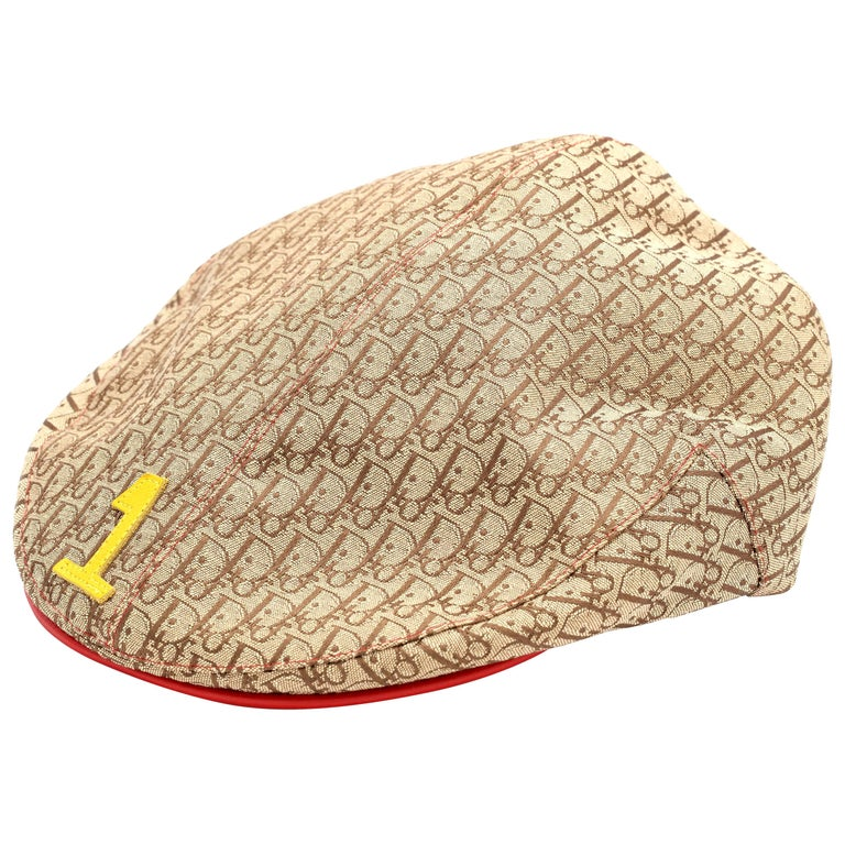 "John Galliano for Christian Dior Rasta Logo Hat ""1"" Printed For Sale"