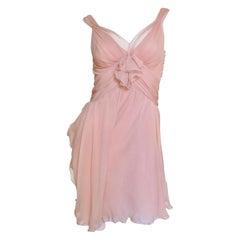 John Galliano for Christian Dior Silk Dress