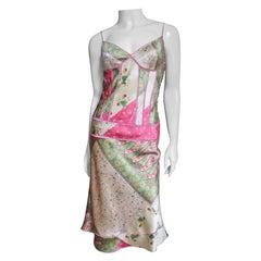 John Galliano for Christian Dior Silk Slip Dress