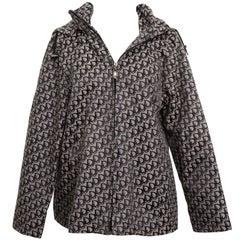 John Galliano for Christian Dior Trotter Logo Jacket