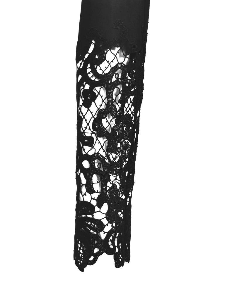 John Galliano Military Style Tailored Lace Jacket 14
