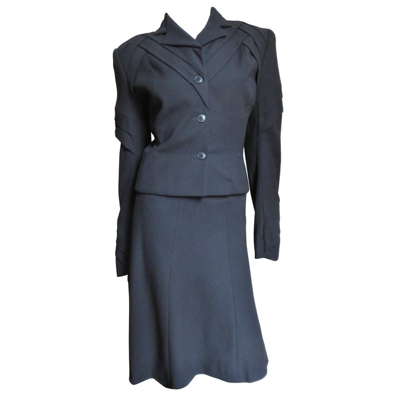John Galliano Runway Skirt Suit 1990s For Sale