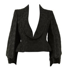 John Galliano Spring 1996 Broderie Anglaise Tailored Jacket Inspired Top