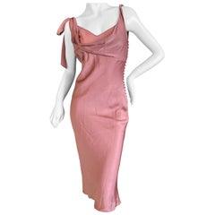 John Galliano Autumn 2000 Romantic Rose Slip Dress