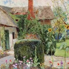 John George Sowerby 'A Cottage Garden', circa 1885