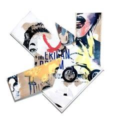 """American Dream"", Amalgam Sculpture, Pop Art, Modern Urban Culture, Commercial"