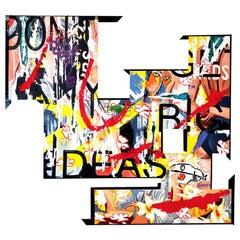 """Don't Get Any Big Ideas"", Amalgam Sculpture, Pop Art, Modern Urban Culture"