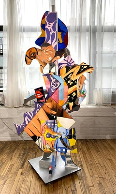 """Go My Own Way"", Amalgam Sculpture, Pop Art, Modern Urban Culture"