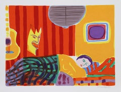 Duerme, Pop Art Serigraph by John Grillo