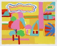 Landscape I, Pop Art Serigraph by John Grillo