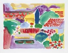 Primavera, Pop Art Serigraph by John Grillo