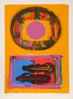 Tantra Abstractions, Pop Art Serigraph by John Grillo