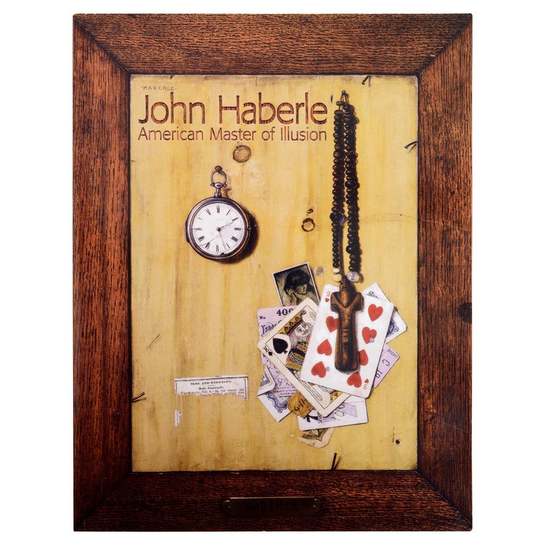 John Haberle American Master of Illusion by Gertrude Sill, 1st Ed For Sale