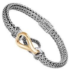 John Hardy Asli Classic Chain Link Station Bracelet BZ90344XM
