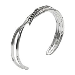 John Hardy Bamboo Cuff Bracelet, CBS58884BLSXM