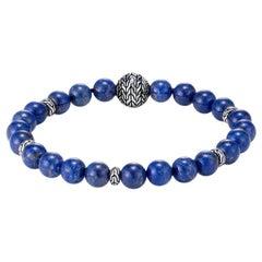 John Hardy Bead Bracelet with Lapis Lazuli BMS9465511LPZXM