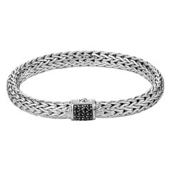John Hardy Classic Chain Bracelet with Black Sapphire BBS90409BLSXS