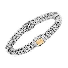 John Hardy Classic Chain Hammered Bracelet BZ90471XM