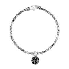 John Hardy Classic Chain Round Charm Bracelet BBS903904BLSBNXM