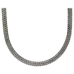 John Hardy Classic Sterling Silver Fancy Link Chain