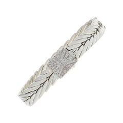 John Hardy Diamond-Accented Modern Chain Bracelet Sterling Silver