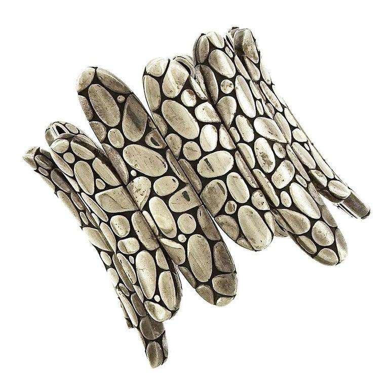 John Hardy Flex Kali Spike Cuff Bracelet For Sale