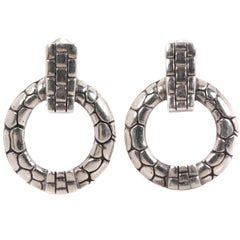John Hardy Kali Collection Sterling Silver Earrings