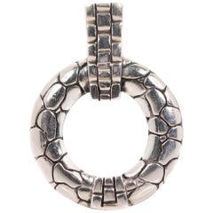 John Hardy Kali Collection Sterling Silver Pendant Charm
