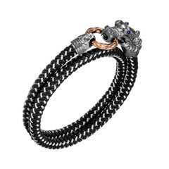 John Hardy Legends Naga Wrap Bracelet BMS656861OZBRDBL