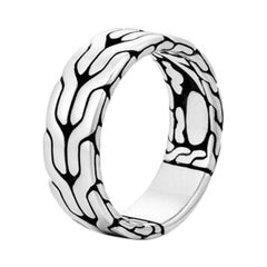 John Hardy Men's Classic Chain Band Ring RB99842X10
