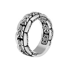 John Hardy Men's Classic Chain Band Ring RM999731X10
